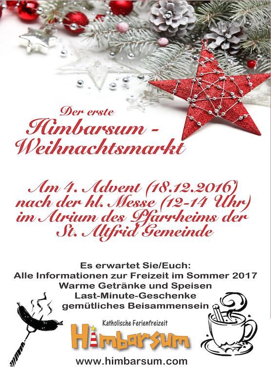 Plakat Weihnachtsmarkt 1
